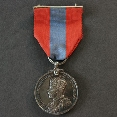George 5th Imperial Service Medal