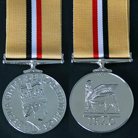Iraq 2003 Gulf War Medal Copy