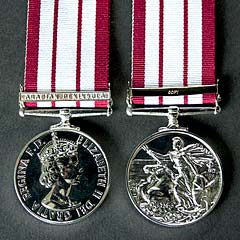 Naval GSM EIIR with Arabian Peninsula Clasp