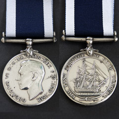 Naval Long Service Good Conduct Medal Image 2
