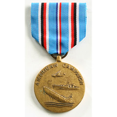 USA American Campaign Medal - WW2