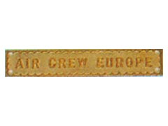Air Crew Europe Medal Bar