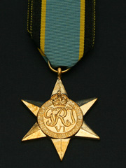 Air Crew Europe Star  WW2 Medal