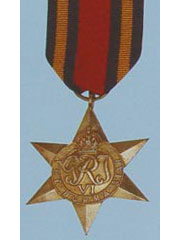 Burma Star  WW2 Medal