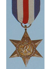 France and Germany Star  WW2 Medal