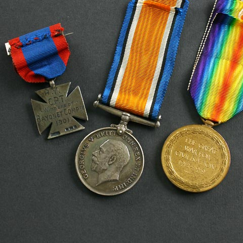 Great War Medal Pair Victory and War Medal