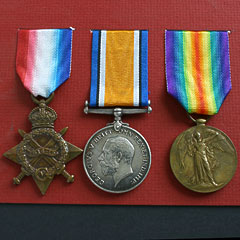 WW1 1914-15 Trio Group of Medals 2