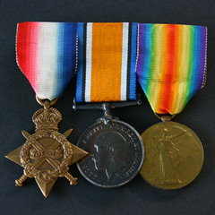 WW1 1914-15 Trio - Group of Medals (3)