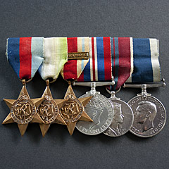 Royal Naval Medal Group - Walker