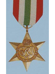 Italy Star  WW2 Medal