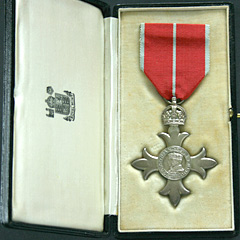MBE Military Medal