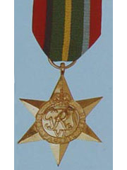 Pacific Star  WW2 Medal