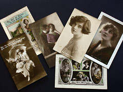 Stage, Cinema and Glamour Postcards Collection 1
