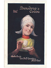 Bensdorps Cocoa Advertising Postcard
