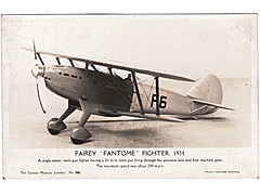 Fairey Fantome Fighter 1934