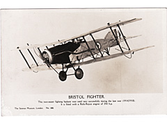 Bristol Fighter Photographic Postcard