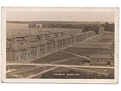 Military Postcard Tidworth Barracks