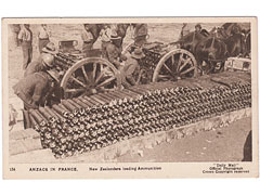 Anzacs in France 154 Postcard