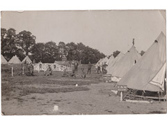 Military Camp at Chattenden Postcard