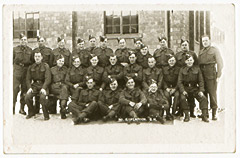 Green Howards 5 Platoon Group Photo 1941