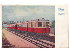 North Eastern Railway Electric Service Postcard