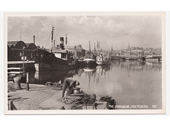 Aberdeen, The Harbour - Photographic Postcard