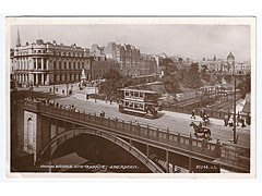 Union Bridge and terrace - Aberdeen Postcard