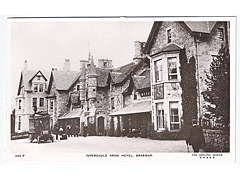 Invercauld Arms Hotel photographic postcard