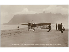 M.Salmet Aviator in Scarborough Postcard Image 2