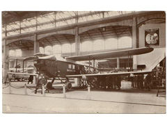 Postcard of Imperial Airways Passenger Aeroplane
