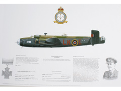 Handley Page Halifax 578 Squadron Gift Print Image 2