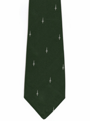 42 Commando Royal Marines logo tie Image 2