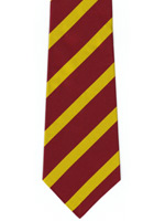 12th Royal Lancers striped tie