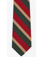 5th Inniskilling Dragoon Guards striped tie
