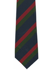 Black Watch regimental striped tie