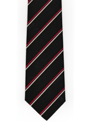 Cheshire Regiment Stripe Tie