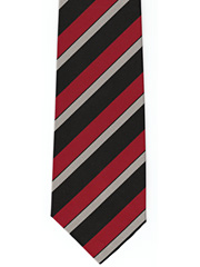 East Surrey Regiment Striped Tie