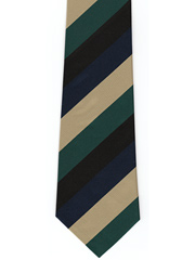 Gordon Highlanders Striped Tie