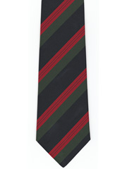 9th Battalion HLI striped tie