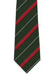 Light Infantry newer striped tie