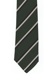 Queens Own Highlanders Striped Tie