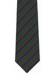 Royal Irish Regiment Striped Tie