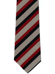 Seaforth Highlanders Striped Tie