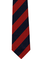 Adjutant Generals Corps striped tie