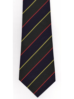 Argyll and Sutherland Highlanders striped tie