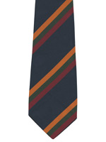 Duke of Lancasters Regiment striped tie