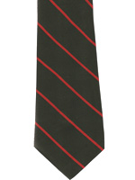 Durham Light Infantry striped tie