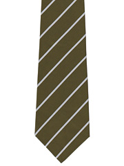 Green Howards striped tie