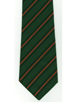 Gurkhas regiment striped tie