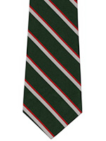 Intelligence corps striped tie